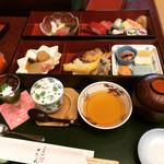 寿司遊膳さおとめ - 松花堂  ¥1620-