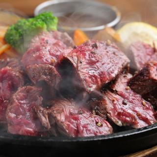【希少部位多数!】ステーキは全11種類の部位から選択可能