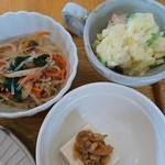 白壁ハナコ - 小鉢3種
