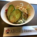 炭火dining ABURI - ミニサラダ