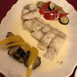 小岩井フレミナール - 白身魚のワイン蒸し