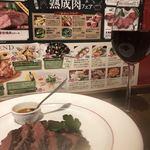 有楽町ワイン倶楽部 - ジビエ。鹿肉。しゆーしーこく
