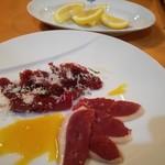 イタリア料理 B-gill - 前菜2 牛肉と鴨