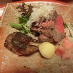 草喰 なかひがし - 牛肉は北海道牛