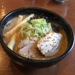 吉山商店 - 料理写真:焙煎ごま味噌ラーメン(ちび)