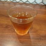 蔵味噌ラーメン 晴っぴ - 2018年3月 黒ウーロン茶