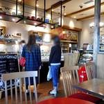 ラト・リーチェ お箸の国 de ジェラート - カフェスペースのカウンター