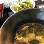 絆 - スープとサラダ