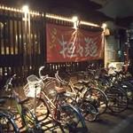 83145699 - この自転車は、お客さんではないみたい