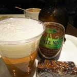 ユニカフェ125 - ホワイトナイルビールとガナッシュ