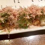 銀座酒場 マルイチ - 炙りお揚げさん780円