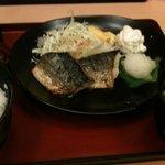 ジョイフル - 料理写真:焼きサバ定食 450円 大盛無料♫