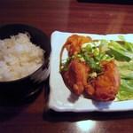 かこみや - 鶏南蛮ご飯セット