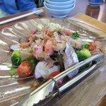 魚繁 - 海鮮サラダ