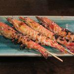 食菜鮮魚 たか家 - 車海老の塩焼き