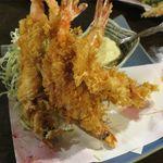 食菜鮮魚 たか家 - 車海老のフライ