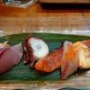 たけうち - 料理写真:中トロ鮪、イナダ、北海タコ、桜マス、アオヤギ