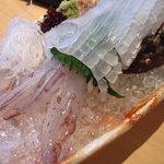 國武 - 料理写真:イカの活き造り