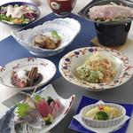 沼津港直送の海鮮と創作料理 ゆうが沼津 - 4000円宴会コース