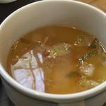 アブルボア - 定食:スープ