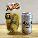 ひろちゃんカキ - カキのアヒージョ(500円)