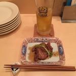 83170661 - かすべ煮(あご)&お茶