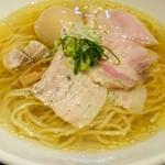 生粋 花のれん - 料理写真:旨み鶏だし(塩)、味玉