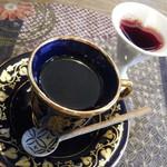 四季の蔵 食楽亭 - すっぽんちゃんぽん(コーヒー&ブルーベリー黒酢ドリンク)