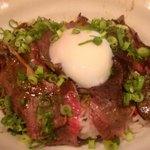 83174535 - 炙り黒部和牛サシトロ丼1000円