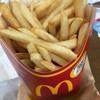 マクドナルド - 料理写真:マックフライポテトL
