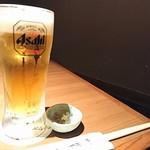 83176572 - 生ビールはスーパードライ