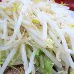 ラーメン二郎 - 野菜