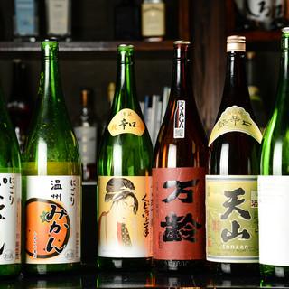 女性に人気の梅酒から、厳選焼酎まで◎種類豊富にお酒をご用意。