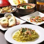 おまかせ料理コース3000円(税込み)