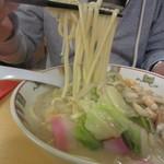 銀座 吉宗 - ちゃんぽん 麺リフト