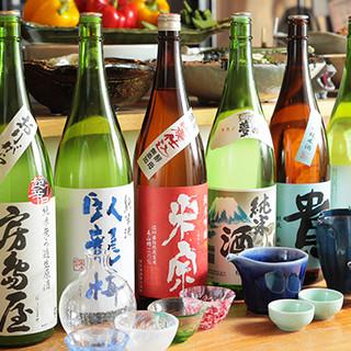 目利きしたこだわりの日本酒を、日替わりでご提供しております!