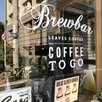 LEAVES COFFEE APARTMENT - お店の外観。
