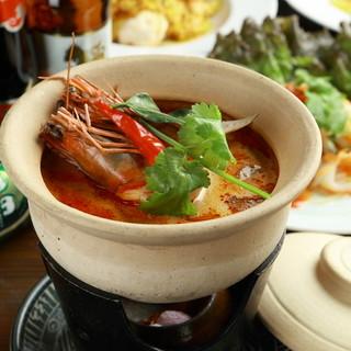 本場タイの味わいを京風に。地元・京都の食材で作る本格タイ料理