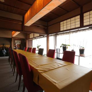 ◇合計3部屋◇2F個室からは鴨川の景色を一望◎
