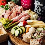 毎日油を変え揚げる自慢の串天。 山本家の天ぷら串をご堪能ください。
