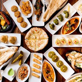 インドの4つ星ホテルのシェフが作る本格インド料理をご堪能◎
