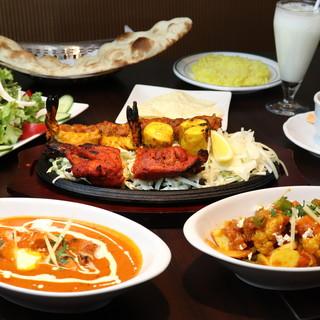 本格スパイスを使用!絶品の本場インド料理は、身体にも優しい◎