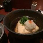 銀平 - 揚げだし豆腐