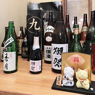 ◇多彩なドリンク◇焼酎や店主厳選の日本酒など