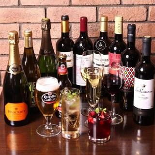スペインのカクテルやビール、ワインにハードリカーもスペイン産