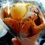 スイーツアンドコーヒー チョコス - 『sweets&coffee CHOCO's』生クリーム