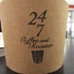 24/7 coffee&roaster - 紙コップのロゴ
