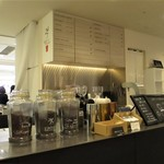 24/7 coffee&roaster - 店内(カウンター)