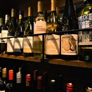 [ソムリエ監修!]常時55種類以上のワイン