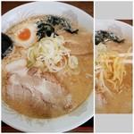 みそラーメンの喜亭 - 料理写真:味噌ラーメン 700円